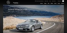 2017 Mercedes-Benz SLC Heads to Detroit with New Styling and Features. New AMG version packs 362 hp. Mercedes Benz Website, Mercedes Slc, Mercedes Benz For Sale, Classic Mercedes, Mercedes Benz Amg, V8 Cars, Cars Uk, Daimler Benz, Automotive News