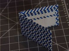 Duct Tape Wallet using Scotch Chevron and White Duct Tapes - Available from Warehouse Stationery Stores #scotchtapes