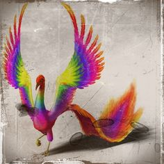 Achiyalabopa- North American myth: a celestial bird, whose feathers were the colors of the rainbow and sharp as knives.