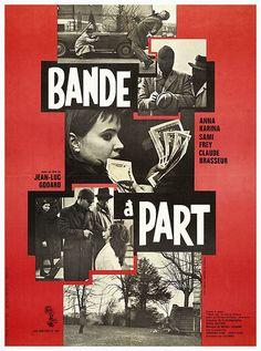 """""""Bande à Part"""" (Jean-Luc Godard, 1964)"""