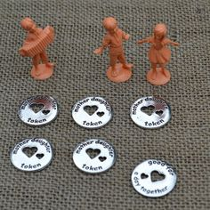 Mother and Daughter Tokens, Good for a Day Together. Great way to create special memories.