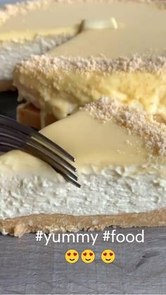 Fun Baking Recipes, Sweet Recipes, Dessert Recipes, Cooking Recipes, Easy Cake Recipes, Delicious Desserts, Yummy Food, Cheesecake Recipes, No Cook Meals