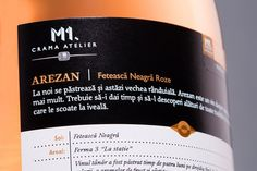 M1.Crama Atelier - Arezan Feteasca Neagra roze. #cramaatelier #arezan Whiskey Bottle, Shampoo, Personal Care, Drinks, Wine, Atelier, Drinking, Self Care, Beverages