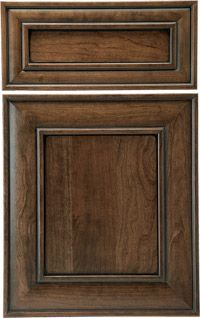 Image result for woodland cabinetry hickory gray stain
