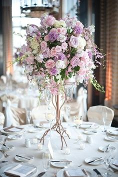 Blush and lavender