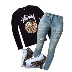 Simple #10 by beautifully-ambitious on Polyvore featuring polyvore fashion style Faith Connexion Stussy NIKE