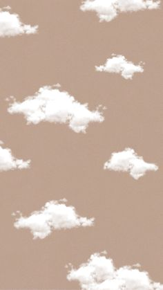 Aesthetic beige cloud wallpaper ~ Credits to Original Owner ♡~ Wallpaper Pastel, Cloud Wallpaper, Brown Wallpaper, Cute Patterns Wallpaper, Iphone Background Wallpaper, Simple Iphone Wallpaper, Cute Ipad Wallpaper, Pastel Lockscreen, Pastel Background Wallpapers