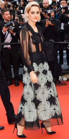 10 Times Kristen Stewart Was the Coolest Girl on the Red Carpet - In Chanel at the Cannes Film Festival, 2016 from InStyle.com