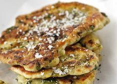 KitchenAid Stand Mixer recipe - Garlic and onion crisp fried flat bread