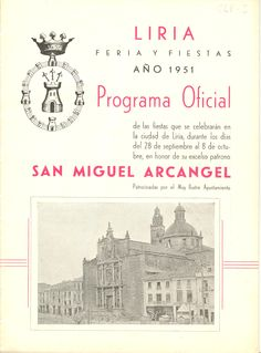Cubierta Libro de Fiestas de 1951