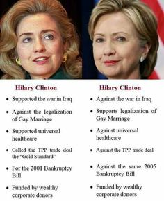Hillary is crystal clear