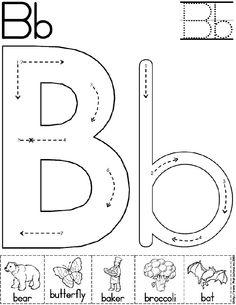 abc worksheet letter b alphabet letter b worksheet preschool printable activity standard - Fun Worksheets For Preschoolers