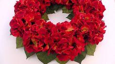 WREATHS  Fall Door Wreath  Hydrangea by MandalaSvetlanaBarba