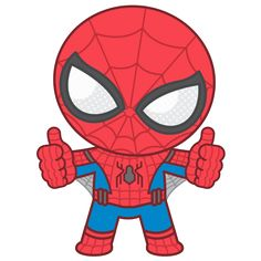 Spider-Man: Homecoming sticker Spiderman Bebe, Chibi Spiderman, Spiderman Images, Spiderman Drawing, Chibi Marvel, Drawing Superheroes, Avengers Cartoon, Marvel Characters, Comic Book Characters