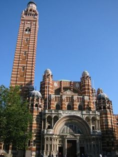 Westminster Cathedral in London - not to be confused with the more famous Westminster Abbey nearby - is the headquarters of the Roman Catholic Church in Britain. Its full formal name is the Cathedral Church of Westminster.