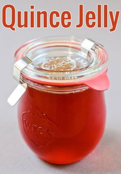 A fail-safe, detailed recipe to make quince jelly. Guaranteed jelly success!