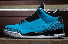 "Releasing: Air Jordan 3 Retro ""Powder Blue"""