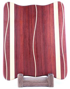 Padauk  Rock Maple Butcher Block Cutting Board $100