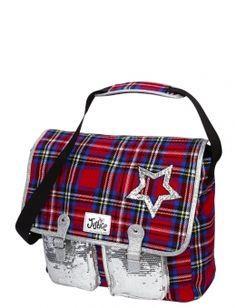 Glitter Graffiti Initial Messenger Bag | Backpacks & Supplies ...