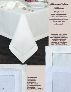 Fine Linen Tablecloths, Fine Table Linens, Tablecloth, Tablecloths | Table Cloth Factory