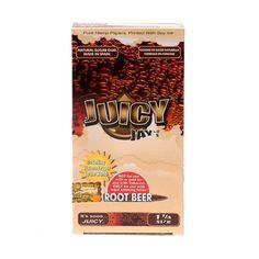 """Juicy Jays root beer 1 1/4"""" rolling papers pack"""