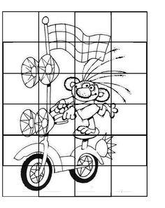 Coloring Books, Puzzle, School, Fun, Vintage Coloring Books, Puzzles, Coloring Pages, Puzzle Games, Hilarious