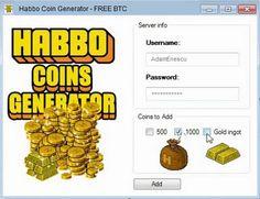 Habbo Coins Generator