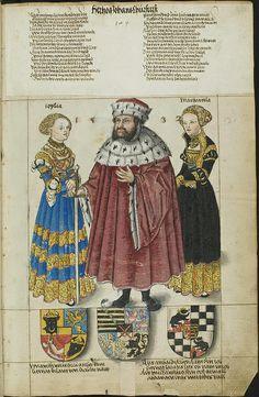 Saxony lineage l (Hofkleiderbuch, Cranach) by peacay, via Flickr