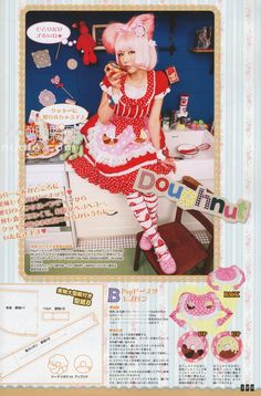 The Gothic Lolita Bible and Dessert Inspired DIY Patterns! ~ Drop Dead Cute