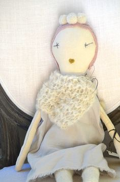 Limited edition jess brown snowflake dolls at  www.chalkfarmhome.com