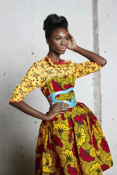 gorgeous ankara design