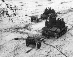 Anti-Tank guns on T-60s.