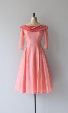Social Register dress vintage 1940s dress silk 40s by DearGolden