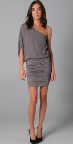 alice + olivia one shoulder dress... Fun Dress. If only I had somewhere to where it.