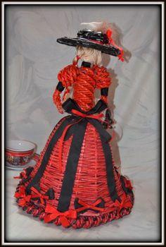 Dolls Prams, Weaving, Newspaper Art, Rolled Paper, Photograph Album, Loom Weaving, Crocheting, Knitting, Hand Spinning