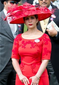Princess Haya, June 16, 2016 in Philip Treacy | Royal Hats