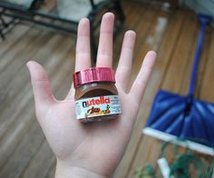 pretty much everything nutella :) haha