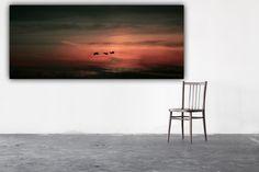 """Farbe - Leinwand """" Journey """" 120 x 40 cm - ein Designerstück von Heavensblue-Fotografie bei DaWanda"""