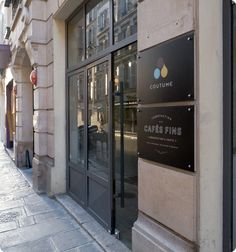 Coutume Café :: 47 rue de Babylone, Paris