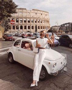 da073c40fa196e Retro sunglasses - old fiat 500 - Colosseum - Italy - discountedsunglasses  Travel Goals, Travel
