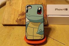 Squirtle / Pokemon / Pokeball / Pikachu / Charmander / Apple Iphone 4 / 4s Case
