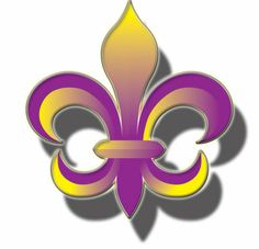 Any impaled Hawkeyes similar to the Saints Fleur de Lis logos floating about? Lsu Tigers Football, University Of Georgia, All Things Purple, Nfl Sports, New Orleans Saints, San Francisco Giants, Purple Gold, Louisiana, Clip Art