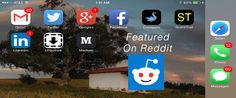 Mobile Icons For Your Blog on Featured on Reddit