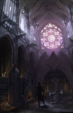 Graveyard Mausoleum from Castlevania: Lords of Shadow