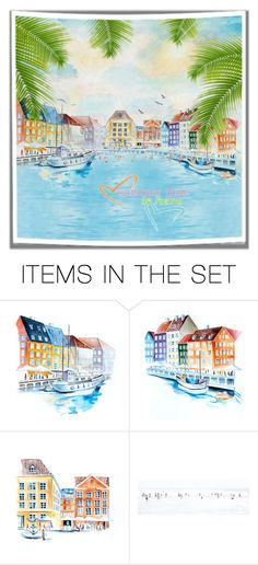 """Summer Is Here"" by autumnum ❤ liked on Polyvore featuring art"