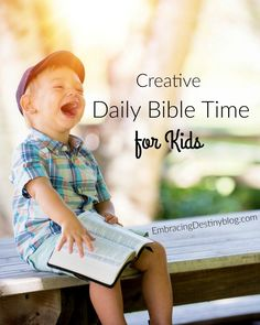 Try these creative Bible time activities with your kids to make it a multisensory, memorable part of the day! Bible time for kids can be fun and educational.
