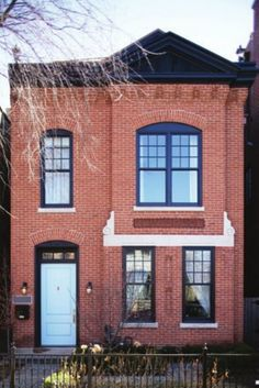 Exterior Window Trim Brick solution to not replacing all my windows right now, paint the