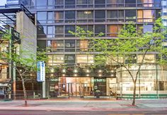 Wyndham Midtown 45, 205 East 45th Street New York, NY 10017-3301 US 1-212-867-5100 Smoke-free & newly renovated in several areas.  Seamlessly merging serene surroundings with an enviable location in the heart of vibrant midtown Manhattan.  The guest rooms offer flat-screen HD TV's, plush pillow-top bedding and Wi-Fi Internet access, as well as limestone baths and rain showers.