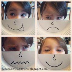 Mitja careta per expressar emocions