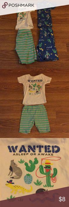 2 pairs of boys pajamas 2 pairs of boys pajamas by Carter's in good condition. Carter's Pajamas Pajama Sets